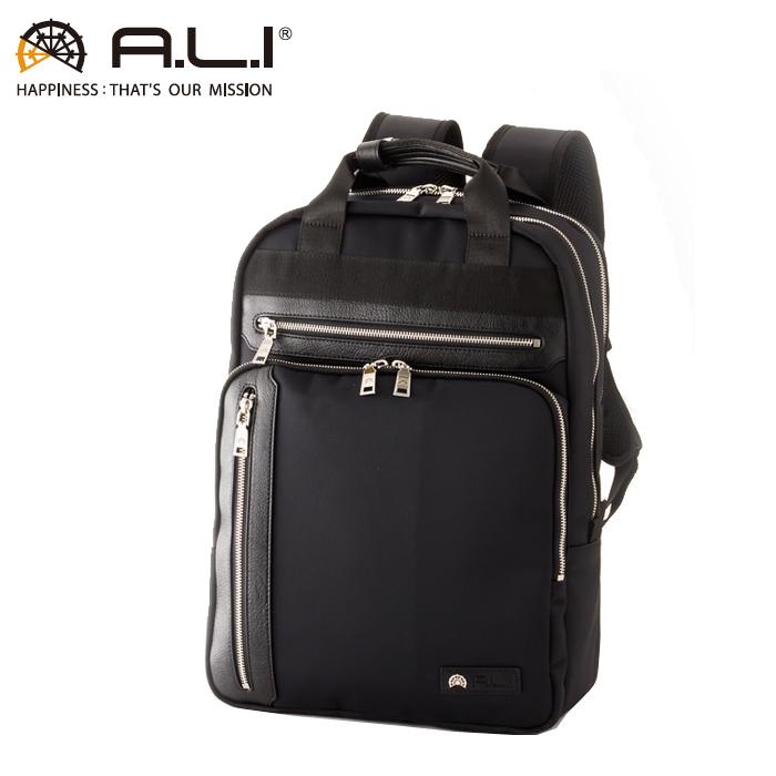 A.L.I/アジア・ラゲージ AGBS-3431 メンズ ビジネス リュック (ブラック)