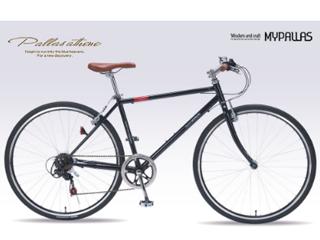 MyPallas/マイパラス M-604 クロスバイク 6SP 【700c】 (ブラック) メーカー直送品のため【単品購入のみ】【クレジット決済のみ】 【北海道・沖縄・九州・四国・離島不可】【日時指定不可】商品になります。