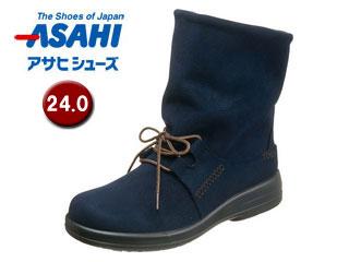 ASAHI/アサヒシューズ AF38834 TDY38-83 トップドライ 女性用ブーツ 【24.0cm・3E】(ネイビー)