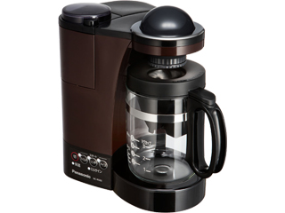 【nightsale】 Panasonic/パナソニック NC-R500-T コーヒーメーカー ブラウン