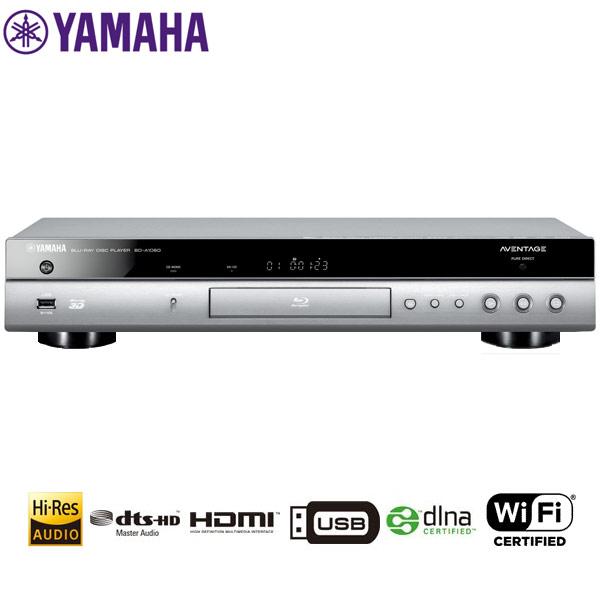 YAMAHA/ヤマハ BD-A1060-H(チタン) ブルーレイディスクプレーヤー 【AVENTAGE/アベンタージュ】