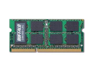 BUFFALO/バッファロー PC3L-12800(DDR3L-1600)対応 204PIN DDR3 SDRAM S.O.DIMM 8GB D3N1600-L8G