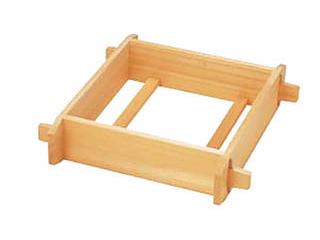 【納期未定】木製角セイロ 3寸 48cm