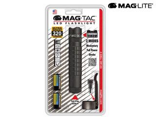 MAG-LITE/マグライト SG2LRA6 マグライト マグタック LED クラウンベゼル ブリスターパック(ブラック)【320ルーメン】 【当社取扱いのマグライト商品はすべて日本正規代理店取扱品です】