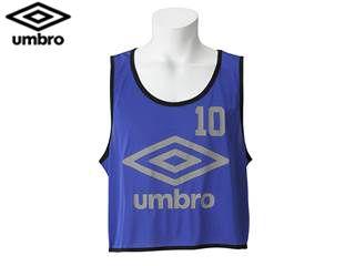 UMBRO/アンブロ UBS7557Z ストロングビブス10P 【JR-F】 (ブルー)