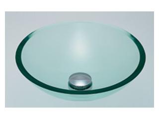 新しいスタイル 493025C ガラス丸型洗面器 KAKUDAI/カクダイ (クリア):ムラウチ-木材・建築資材・設備