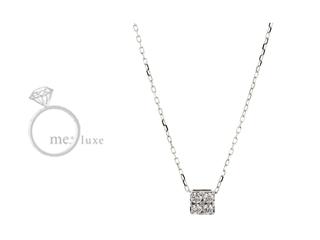 me.luxe/エムイーリュークス H&Qダイヤ ネックレス ダイヤモンド ダイヤ 高級 ネックレス ペンダント ジュエリー プレゼント ギフト 包装 記念日