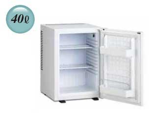 沖縄県の配送は出来ません 三ツ星貿易 ML-640W 寝室用(客室用)冷蔵庫 ホワイト 【40L】