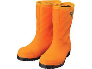 SHIBATA/シバタ工業 冷蔵庫用長靴-40℃ NR031 25.0cm オレンジ
