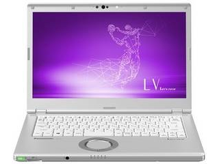Panasonic パナソニック 14型ノートPC Let's note LV8(i5/SSD256GB/Office2019) CF-LV8KDCQR 単品購入のみ可(取引先倉庫からの出荷のため) クレジットカード決済 代金引換決済のみ