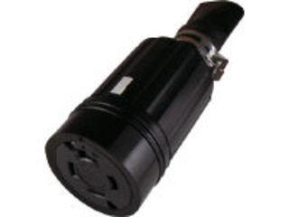 AMERICAN/アメリカン電機 引掛形 防水形コネクタボディ 接地3P60A600V 4664RW