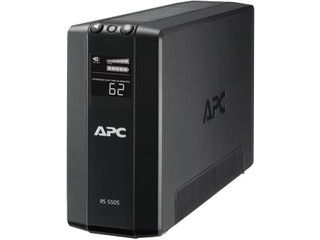 シュナイダーエレクトリック(APC) UPS(無停電電源装置) APC RS 550VA Sinewave Battery Backup 100V BR550S-JP 単品購入のみ可(取引先倉庫からの出荷のため) 【クレジットカード決済、代金引換決済のみ】