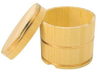 さわら製 飯枢(上物)かぶせ蓋型 24cm