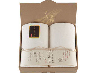 NAKAMORI/ナカモリ 三河木綿 プレミアム六重織ガーゼケット2枚セット/M3054