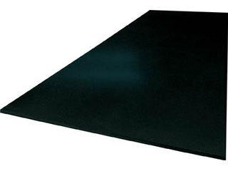 【組立・輸送等の都合で納期に4週間以上かかります】 TRUSCO/トラスコ中山 【代引不可】作業台用ゴムマット 1700X900X5 黒 GL5D-1700