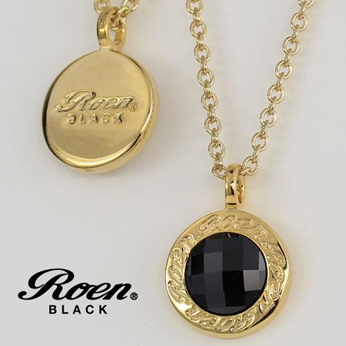Roen BLACK/ロエンブラック RoenBLACK 【リバーシブル】 ネックレス (シルバー925/ブラス) RO-007 【新品】 メンズアクセサリー 【正規品】 【RBLACKNC】