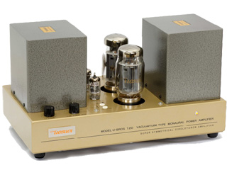 UESUGI/上杉研究所 U-BROS-120 真空管式 モノラル・パワーアンプ(1台)