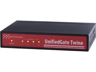 マイクロリサーチ レイヤー2VPN装置 UnifiedGate Twine MR-UGT61