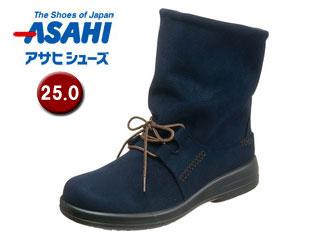 ASAHI/アサヒシューズ AF38834 TDY38-83 トップドライ 女性用ブーツ 【25.0cm・3E】(ネイビー)