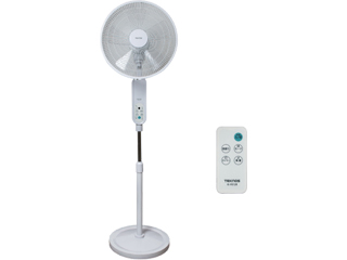 TEKNOS/テクノス KI-F812R フルリモコン立体送風 DCフロアー扇風機 ホワイト