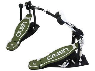 CRUSH/クラッシュ M4DBDP ダブルバスドラムペダル 【ケース付き】