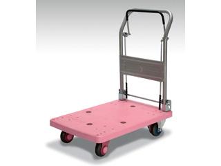 KANATSU/カナツー 【代引不可】【ドラムブレーキ静音】PLA150-DX-DB ハンドル折りたたみ式 (ピンク)