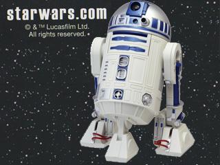 RHYTHM/リズム時計 R2-D2 アクション・アラームクロック 目覚まし時計 【8ZDA21BZ03】 (c)&TM Lucasfilm Ltd. 【スター・ウォーズ/STAR WARS】【stwsr2d2s】