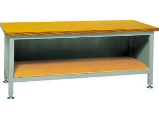 【組立・輸送等の都合で納期に1週間以上かかります】 TRUSCO/トラスコ中山 【代引不可】TWZ型作業台 1800X750XH740/TWZ-1800 (合板天板)