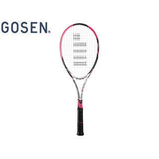 GOSEN/ゴーセン SRCETV ソフトテニス ラケット CUSTOMEDGE TYPE-V (フレームのみ) 【XSL1】 (ショッキングピンク)