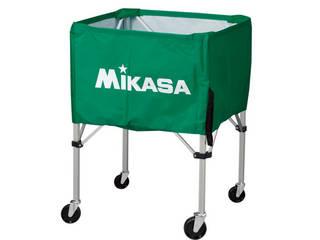 MIKASA/ミカサ 器具 ボールカゴ 屋外用(フレーム・幕体・キャリーケース3点セット) グリーン BCSPHL-G