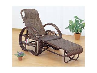 籐三ツ折寝椅子  H29A202B