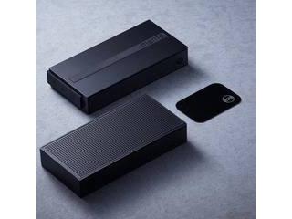 日本ポステック alexa内蔵ポータブルスマートスピーカー MEMO(メモ) ブラック NEX-memo-B ・AIスピーカー