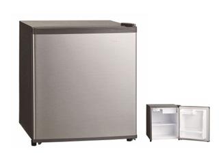 沖縄県の配送は出来ません 三ツ星貿易 SKM-45 1ドア冷蔵庫 (47L・右開き) シルバーグレー
