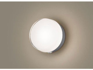Panasonic/パナソニック LGWC81316LE1 LEDポーチライト シルバーメタリック【電球色】【明るさセンサ付】【壁直付型】
