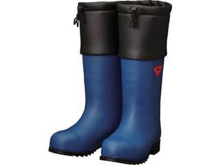 SHIBATA/シバタ工業 防寒安全長靴 セーフティベアー#1001白熊(ネイビー) 22.0cm AC051-22.0