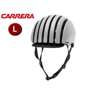CARRERA/カレラ FOLDABLE CRIT シティバイクヘルメット 【Lサイズ(M/L)】 (Matte Cool Grey)