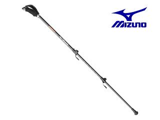 mizuno/ミズノ C3JTP610-54 カーボン製ウォーキングポール 3段伸縮タイプ 2本1組 (オレンジ)