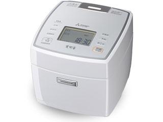 MITSUBISHI/三菱 NJ-VEA10-W(ピュアホワイト)  IH炊飯器 備長炭 炭炊釜【5.5合炊き】