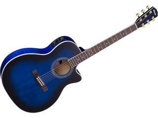 Morris/モーリス R-601 SBU (シースルーサンバースト) ソフトケース付き! エレアコギター(R601SBU) 【アコギ】 【morris201501】