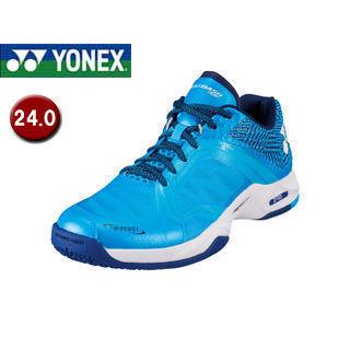 YONEX/ヨネックス SHTADSG-301 テニスシューズ パワークッション エアラスダッシュ SGC 【24.0】 (アクア)
