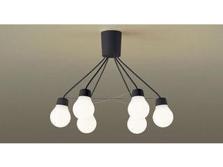 Panasonic/パナソニック LGB57628BCE1 吊下型 LED(電球色)シャンデリア ブラック【~6畳】