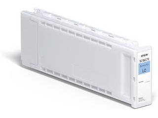 EPSON/エプソン SureColor用 インクカートリッジ/700ml(ライトシアン) SC18LC70