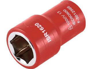 TRUSCO 超人気 トラスコ中山 絶縁ソケット 6角 店内限界値引き中 セルフラッピング無料 差込角9.5 TZ3-12S 対辺12mm