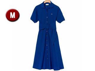 LACOSTE/ラコステ ベルト付きボタンソフトプチピケ ポロドレス サイズ036(M) ブルー EF3089L ブルー EF3089L サイズ036(M), 【公式通販】エムズコレクション:56a0e458 --- sunward.msk.ru