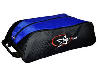 LEZAX レザックス 納期:10月以降 GUSC-0204 シューズケース U.S.A お求めやすく価格改定 ブルー Golf 物品