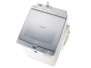 【標準配送設置無料!】 SHARP/シャープ 【まごころ配送】ES-PX8C-S タテ型洗濯乾燥機 (シルバー系) 【洗濯・脱水容量8kg】 【お届けまでの目安:14日間】
