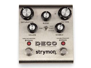 strymon/ストライモン エフェクター strymon DECO(デコ) テープ・サチュレーションやテープディレイなど往年のサウンド! 【RPS160221】