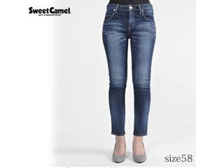 Sweet Camel/スウィートキャメル ナローストレートデニム【R4濃色USED】サイズ58■本格ビンテージ加工■(SC5322)