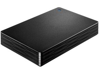I・O DATA アイ・オー・データ USB3.1 Gen 1(USB3.0)対応ポータブルハードディスク カクうす Lite 3TB ブラック