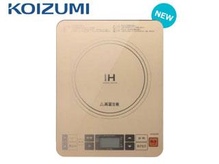 【nightsale】 KOIZUMI/コイズミ KIH-1403/N IHクッキングヒーター (ゴールド) 【音声機能付き】